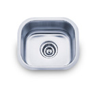 Pelican PL-869 18 Gauge Single Bowl Stainless Steel Sink