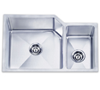 Pelican PL-HA009 Double Bowl Handmade Stainless Steel Sink