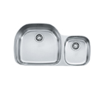 Franke Prestige PCX620 Undermount Double Bowl Stainless Steel Sink