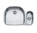 Franke Prestige PCX660 Undermount Double Bowl Stainless Steel Sink