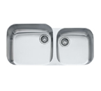 Franke EuroPro GNX120 Undermount Double Bowl Stainless Steel Sink