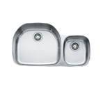 Franke Prestige PCX120 Undermount Double Bowl Stainless Steel Sink