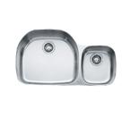 Franke Prestige PCX120 Undermount Double Bowl Stainless Steel Sink