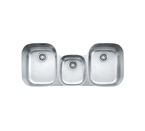 Franke Regatta RGX170 Undermount Triple Bowl Stainless Steel Sink