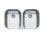 Franke Regatta RXX120 Undermount Double Bowl Stainless Steel Sink