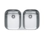 Franke Regatta RXX120 Undermount Double Bowl Stainless Steel Sink