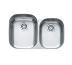 Franke Regatta RGX160 Undermount Double Bowl Stainless Steel Sink
