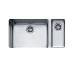 Franke Kubus KBX160 Undermount Double Bowl Stainless Steel Sink