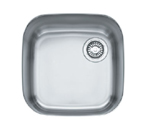 Franke EuroPro GNX11016 Undermount Single Bowl Stainless Steel Sink