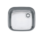 Franke EuroPro GNX11018 Undermount Single Bowl Stainless Steel Sink