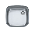 Franke EuroPro GNX11020 Undermount Single Bowl Stainless Steel Sink