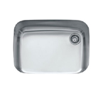 Franke EuroPro GNX11028 Undermount Single Bowl Stainless Steel Sink