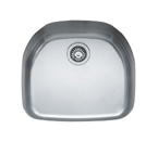 Franke Prestige PCX11021 Undermount Single Bowl Stainless Steel Sink
