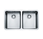 Franke Kubus KBX12030 Undermount Double Bowl Stainless Steel Sink