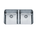 Franke Largo LAX12034 Undermount Double Bowl Stainless Steel Sink