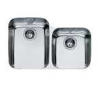 Franke Artisan ARX12030 Undermount Double Bowl Stainless Steel Sink