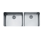 Franke Kubus KBX12043 Undermount Double Bowl Stainless Steel Sink