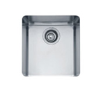 Franke Kubus KBX110-13 Undermount Single Bowl Stainless Steel Sink