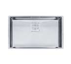 Franke Peak PKX11028 Undermount Single Bowl Stainless Steel Sink