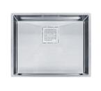 Franke Peak PKX11021 Undermount Single Bowl Stainless Steel Sink