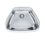 Franke Centennial CQX11019 Undermount Single Bowl Stainless Steel Sink