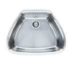 Franke Centennial CQX11024 Undermount Single Bowl Stainless Steel Sink