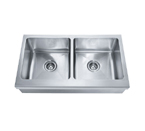 Franke Manor House MHX720-36 Apron Front Double Bowl Stainless Steel Sink