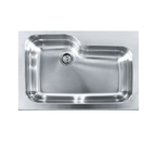 Franke Manor House MHX-ORX110 Apron Front Single Bowl Stainless Steel Sink