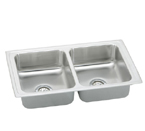 Elkay Pacemaker PSFR3319 Topmount Double Bowl Stainless Steel Sink
