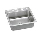 Elkay Pacemaker PSR2222 Topmount Single Bowl Stainless Steel Sink