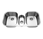 Suneli SM1180C Triple Bowl Undermount Stainless Steel Sink