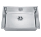 Dawn SRU251610 Undermount Small Radius Single Bowl Stainless Steel Sink