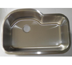 Mazi 339 Undermount Single Bowl Stainless Steel Sink