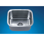 Dawn ASU102 Undermount Single Bowl Stainless Steel Sink