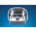 Dawn ASU105 Undermount Single Bowl Stainless Steel Sink