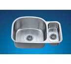 Dawn ASU112R Undermount Double Bowl Stainless Steel Sink