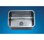 Dawn ASU2316 Undermount Single Bowl Stainless Steel Sink