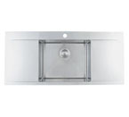 Blanco Flow Inset/Flushmount MicroEdge 1 Hole Sink
