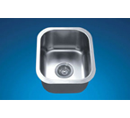 Dawn BS1215 Undermount Bar Single Bowl Stainless Steel Sink
