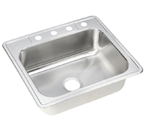 ELKAY 25X22 Dayton 4H Select SINK STAINLESS DJ125224