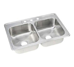 ELKAY Dayton 3H Kitchen Sink STAINLESS STL DSE233223