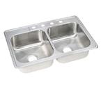 ELKAY Dayton 4H Kitchen Sink STAINLESS STEEL DSE233224