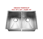 Homeplace Fairfield HBE2920 Double Bowl Stainless Steel Sink