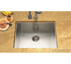 Houzer Contempo Zero Radius Undermount Single Bowl CTS-2300