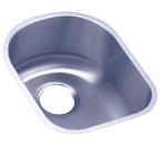 Elkay 13x17 Undermount Single Bowl Sink ELU1317