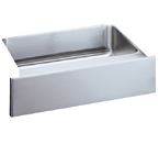 Elkay 28x16 Single Bowl Sink with Apron ELUHFS2816