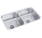 Elkay 31x16 Undermount Double Bowl Sink ELUH3116