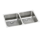 ELKAY 31X18 SS Double Bowl Undermount Sink ELUH3118