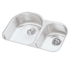 Elkay 31x19x10 Undermount Double Bowl Sink ELUH311910R