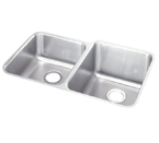 Elkay 31x20 Undermount Double Bowl Sink ELUH3120L